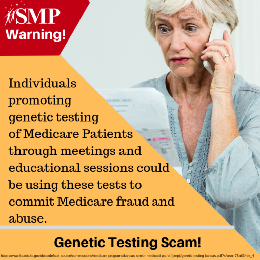 SMP Genetic Testing Scam